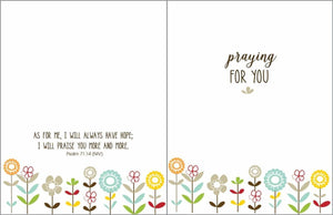 Praying for You Card - Lemon And Lavender Toronto