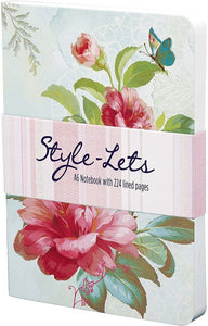 Pretty Notebook - Camellia - Lemon And Lavender Toronto