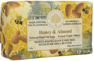 Pure Natural Honey & Almond Soap - Lemon And Lavender Toronto