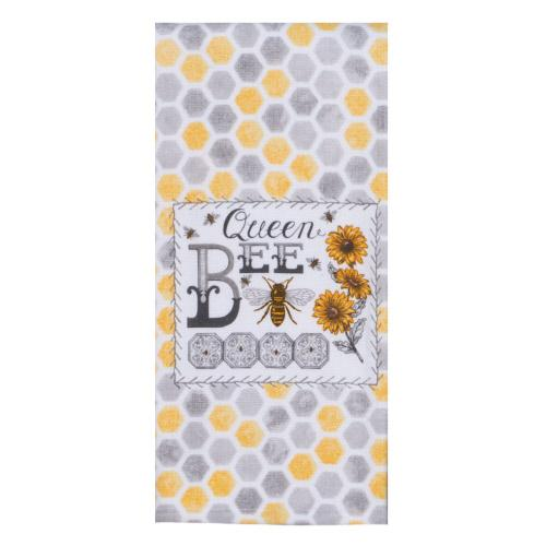 Queen Bee - Tea Towel - Lemon And Lavender Toronto