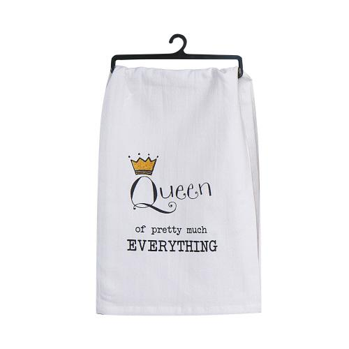 Queen of Everything - Tea Towel - Lemon And Lavender Toronto