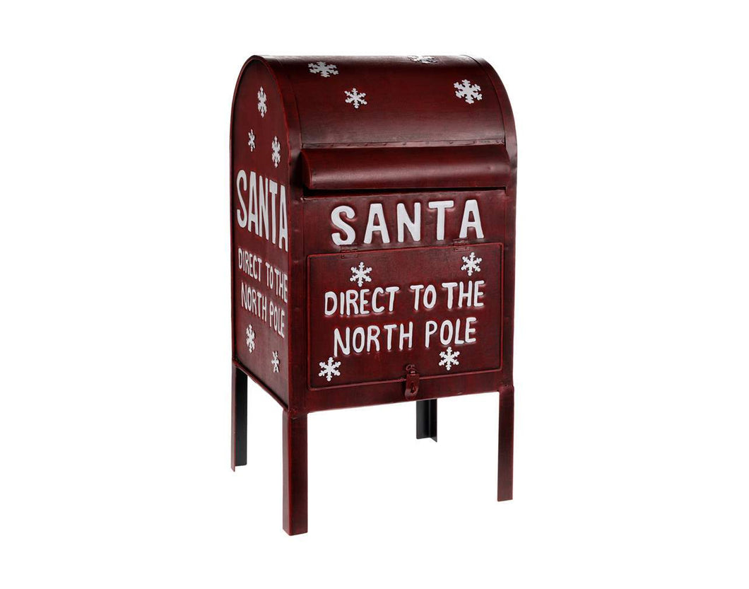 Red North Pole Mailbox - Lemon And Lavender Toronto