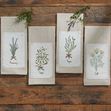 Load image into Gallery viewer, Rosemary Tea Towel - Lemon And Lavender Toronto