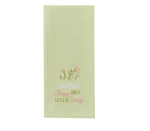 Sassy Grandma - Tea Towel - Lemon And Lavender Toronto