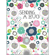 Load image into Gallery viewer, Sending a Hug Card - Lemon And Lavender Toronto