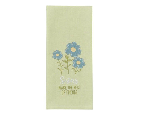 Sisters Make Best Friends - Tea Towel - Lemon And Lavender Toronto