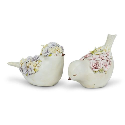 Sitting Flower Wing Bird SET - Lemon And Lavender Toronto