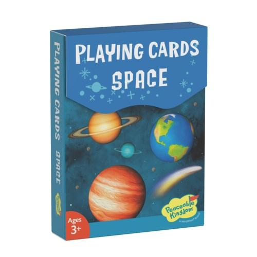 Space Playing Card Pack - Lemon And Lavender Toronto
