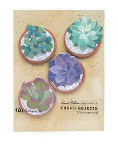 Succulent Garden - 180 Sticky Notes - Lemon And Lavender Toronto