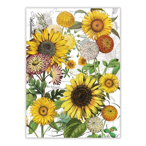 Sunflower Kitchen Towel - Lemon And Lavender Toronto