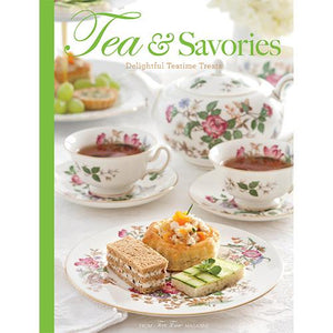 Tea & Savories Book - Lemon And Lavender Toronto
