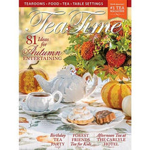 Load image into Gallery viewer, Tea Time Magazine - Autumn Edition - Lemon And Lavender Toronto