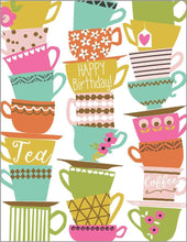 Load image into Gallery viewer, Teacup Birthday Card - Lemon And Lavender Toronto