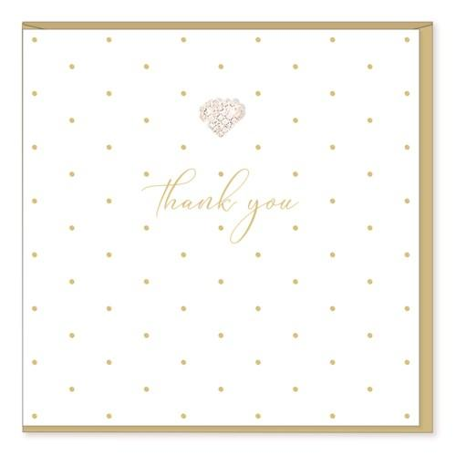 Thank you - Elegant Card - Lemon And Lavender Toronto