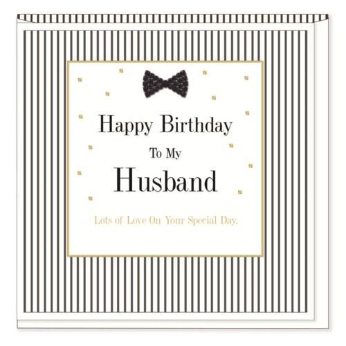 The Best Husband - Birthday Card - Lemon And Lavender Toronto