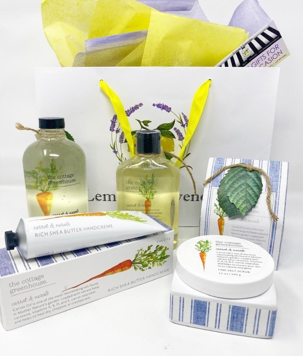 The Cottage Greenhouse Gift Set - Lemon And Lavender Toronto