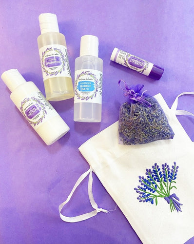 The Little Lavender Gift Set - Lemon And Lavender Toronto