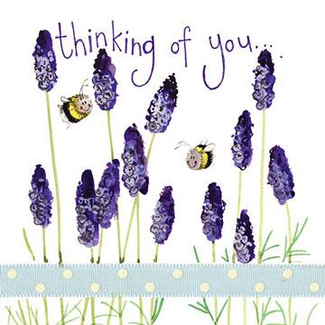Thinking of You- Card - Lemon And Lavender Toronto