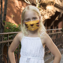 Load image into Gallery viewer, TIGER KID'S MASK - Lemon And Lavender Toronto