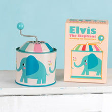 Load image into Gallery viewer, Tin Music Box - Elvis the Elephant - Lemon And Lavender Toronto