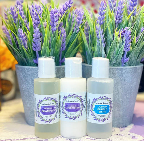 Travel Size Lavender Trio - Lemon And Lavender Toronto