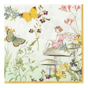 TRULY FAIRY PAPER PARTY NAPKINS - Lemon And Lavender Toronto