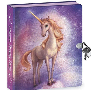 Unicorn Invisible Ink Diary - Lemon And Lavender Toronto