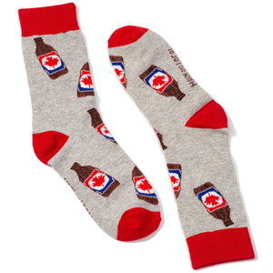 Unisex - Canadian Beer Socks - Lemon And Lavender Toronto
