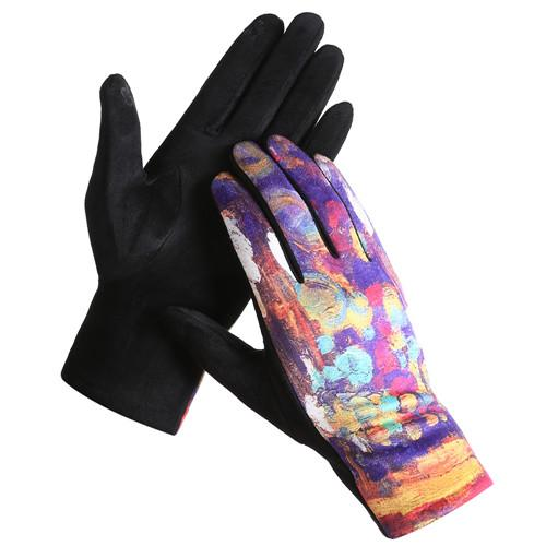 Van Gogh Touch Screen Gloves - Lemon And Lavender Toronto