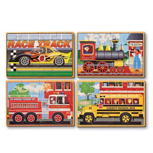 Vehicles Jigsaw Puzzles in a Box - Lemon And Lavender Toronto