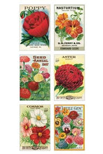 "Load image into Gallery viewer, Vintage Postcards ""Garden Variety "" - Cavallini - Lemon And Lavender Toronto"