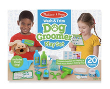 Load image into Gallery viewer, Wash & Trim Dog Groomer Play Set - Lemon And Lavender Toronto