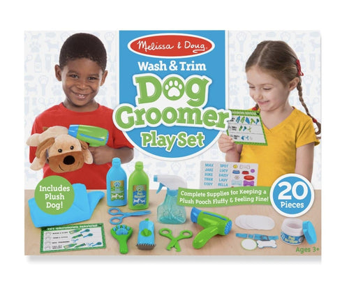 Wash & Trim Dog Groomer Play Set - Lemon And Lavender Toronto