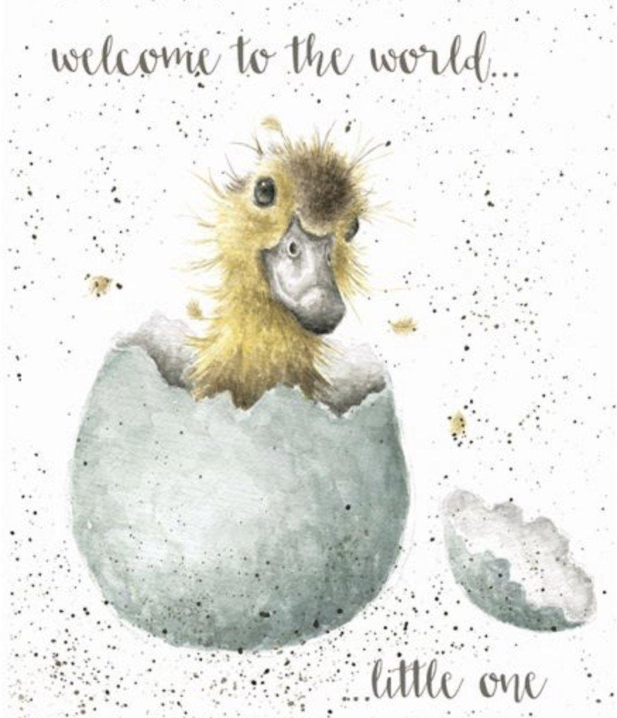 Welcome to the World Card - Lemon And Lavender Toronto