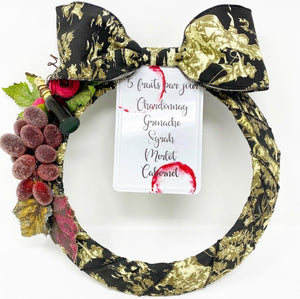 Wine Wreath - Lemon And Lavender Toronto