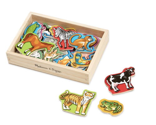 Wooden Animal Magnets - Lemon And Lavender Toronto