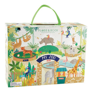 Wooden Play Box - Jungle - Lemon And Lavender Toronto