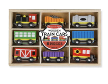 Load image into Gallery viewer, Wooden Train Cars - Lemon And Lavender Toronto