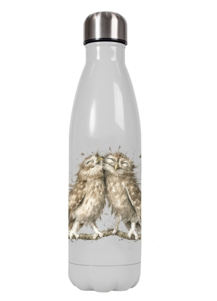Wrendale Waterbottle - Owl - Lemon And Lavender Toronto