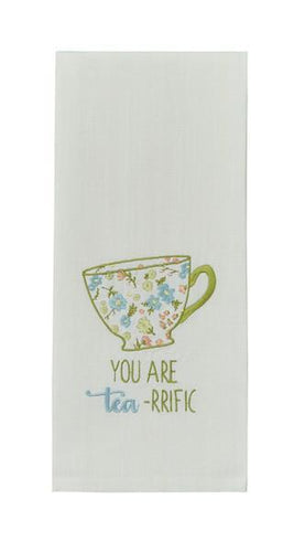 You are Tea-rific Tea Towel - Lemon And Lavender Toronto