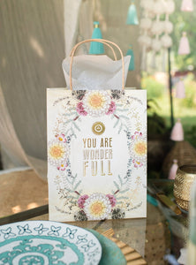 You are Wonderful - Gift Bag - Lemon And Lavender Toronto