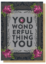 "Load image into Gallery viewer, ""You Wonderful Thing"" -Greeting Card - Lemon And Lavender Toronto"