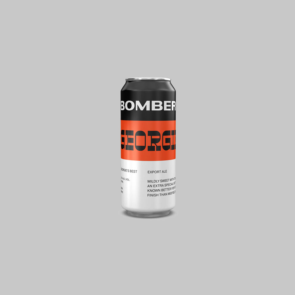 Bomber Brewing Georgie's Best Export Ale - Donnelly Group Quick Liquor