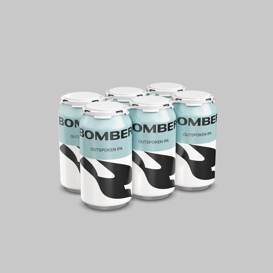 Bomber Brewing Outspoken IPA - Donnelly Group Quick Liquor