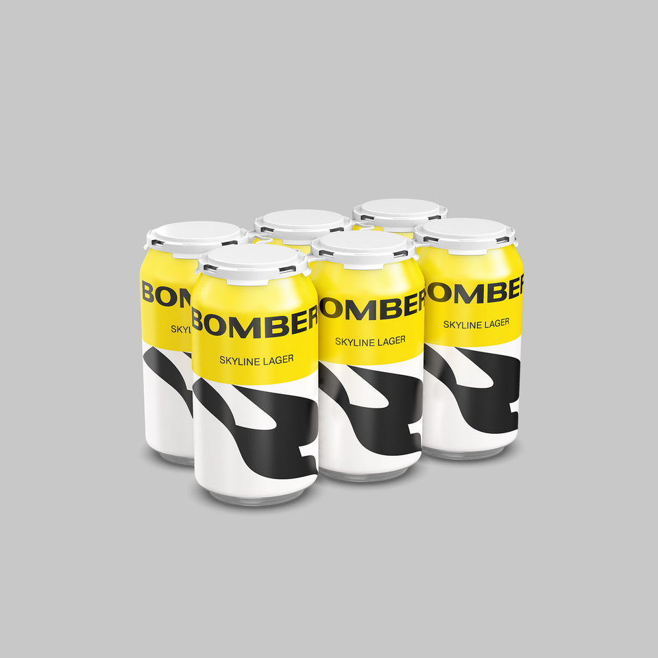 Bomber Brewing Skyline Lager - Donnelly Group Quick Liquor