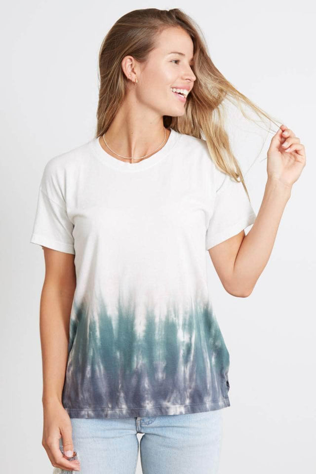Tie-Dye Drop-Shoulder Tee - The Brice
