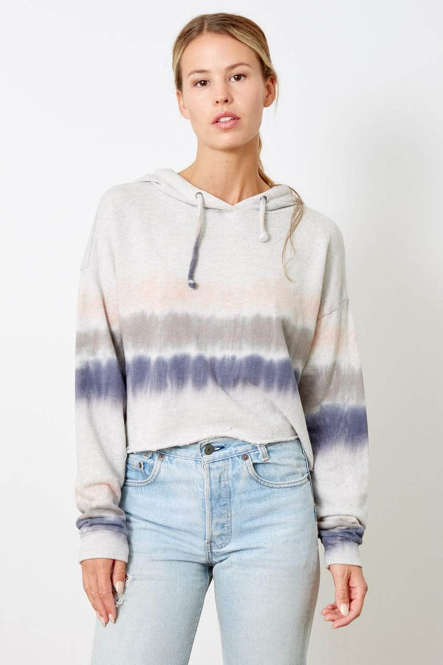 The Anya Crop - Watercolor Tie Dye