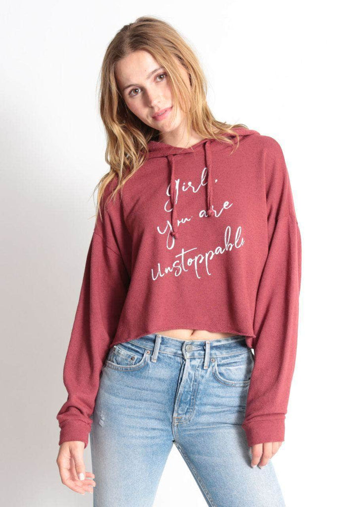 GIRL YOU ARE UNSTOPPABLE - The Anya Crop