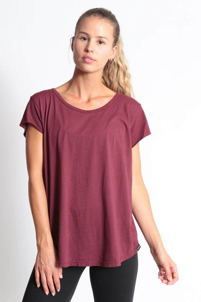ROUNDED RELAXED TEE - The Helen