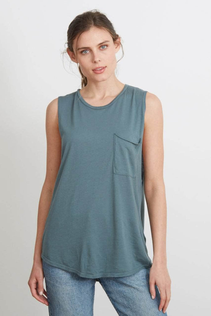 Pocket Muscle Tank - The Riley